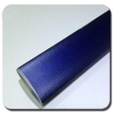 CWFoo Broušená tmavá modrá wrap auto fólie na karoserii