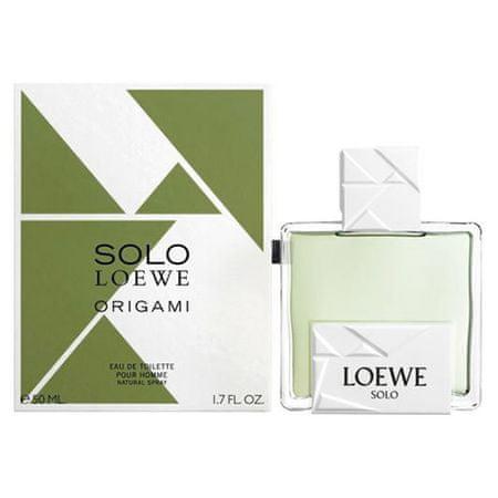 Loewe Solo Origami 50ml EDT, Solo Origami 50ml EDT