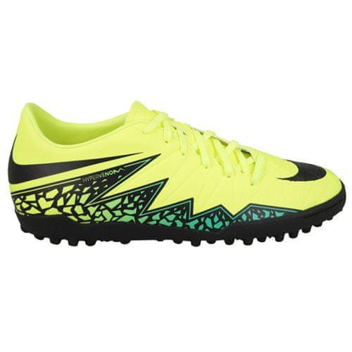 Nike JR HYPERVENOM PHELON II TF, 20 | FOOTBALL/SOCCER | GRD SCHOOL UNSX | LOW TOP | VOLT/BLACK-HYPER TURQ-CLR JADE | 3.5Y