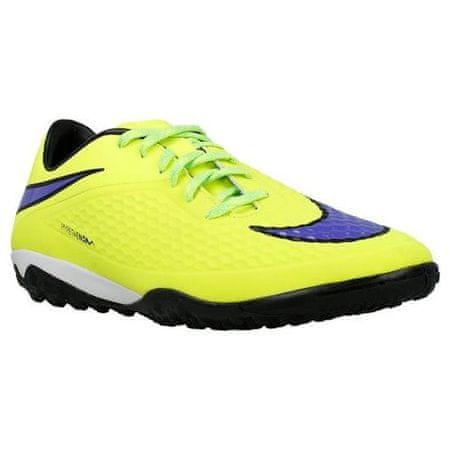 Nike HYPERVENOM PHELON TF, 20 | PIŁKA NOŻNA / PIŁKA NOŻNA | MEN | LOW TOP | VOLT / PERSIAN VIOLET-HT LV-BLCK | 10.5