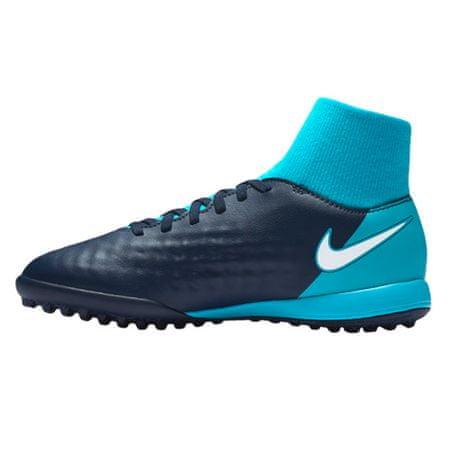 Nike JR MAGISTAX ONDA II DF TF, 20 | FOOTBALL / SOCCER | GRD ŠOLA UNSX | VISOK vrh | OBSIDIAN / WHITE-GAMMA BLUE-GLAC | 4Y