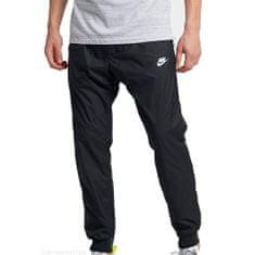 Nike M NSW WR PANT, 10 | INNE SPORTY NSW | MĘŻCZYZNA | PANT | CZARNY / CZARNY / CZARNY / BIAŁY | L.