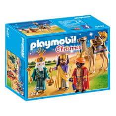 Playmobil Traja králi Playmobil, Vianoce, 58 dielikov