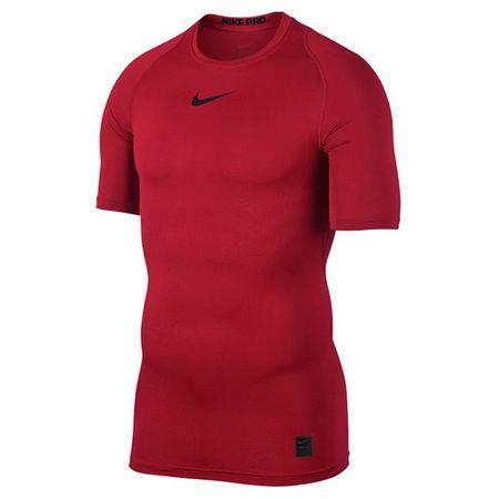 Nike M NP TOP SS COMP, 10. | FÉNYKÉPZÉS | MENS | RÖVID HÁLÓ FEL | EGYETEM VÖRÖS / FEKETE / FEKETE | 2XL