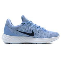 Nike WMNS LUNAR SKYELUX, 20 | RUNNING | WOMENS | LOW TOP | ALUMINUM / BINARY BLUE-MEDIUM BL | 8