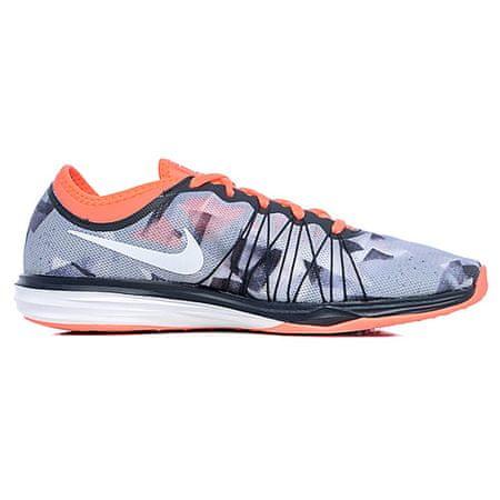 Nike W DUAL FUSION TR HIT PRNT, 20   SZKOLENIA KOBIET   KOBIETY   LOW TOP   LAVA GLOW / WHITE-WOLF SZARO-ANTH   6.5