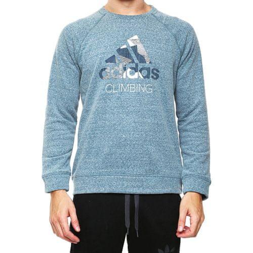 Adidas ED LOGO SWEAT, OUTDOOR | SWEATSHIRT (LONG SLEEVE) | MINERA | 54