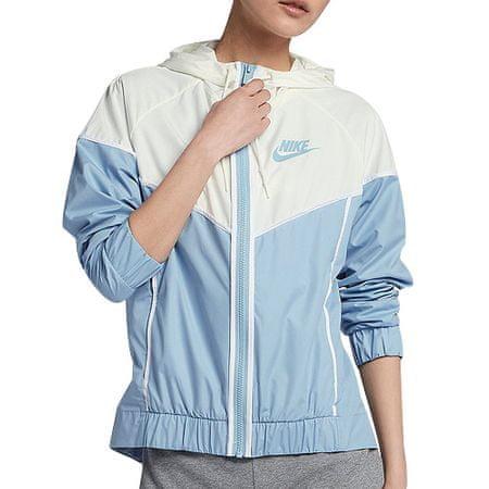 Nike W NSW WR JKT, 10 | INNE SPORTY NSW | KOBIETY | KURTKA | LECHE BLUE / SAIL / WHITE | L.