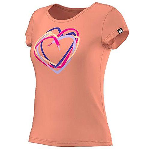 Adidas HEART TEE, GRAPHIC TEE (SHORT SLEEVE) | SEFLOR | XS