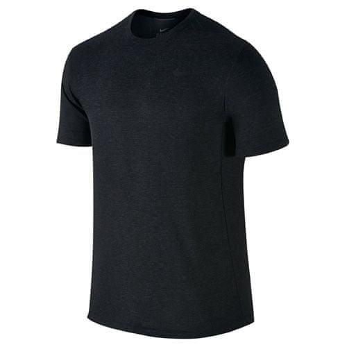 Nike DRI-FIT COOL SS, 10   MEN TRAINING   MENS   SHORT SLEEVE TOP   BLACK / BLACK   L