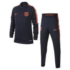 Nike FCB Y NK SZÁR SQD TRK SUIT K, 10. | FABOTBALL / FOCCER | YOUTH UNISEX WARM UP | OBSIDIAN / OBSIDIAN / HYPER BŰNÖK | M