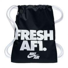 Nike NK HERITAGE GMSK 1 - GFX, 30 | NSW OTHER SPORTS | ADULT UNISEX | GYM SACK | BLACK / WHITE / WHITE | MISC