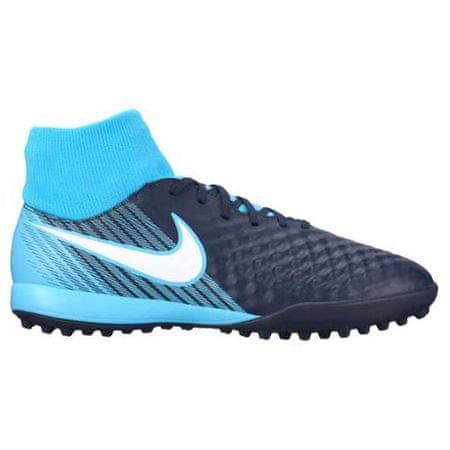 Nike MAGISTAX ONDA II DF TF, 20 | FOOTBALL / SOCCER | MOŠKI | VISOK vrh | OBSIDIAN / WHITE-GAMMA BLUE-GLAC | 10