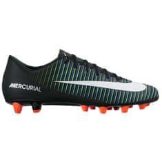 Nike MERCURIAL VICTORY VI AG-PRO, 20   FOOTBALL/SOCCER   MEN   LOW TOP   BLACK/WHT-ELCTRC GRN-PRMNT BL   9