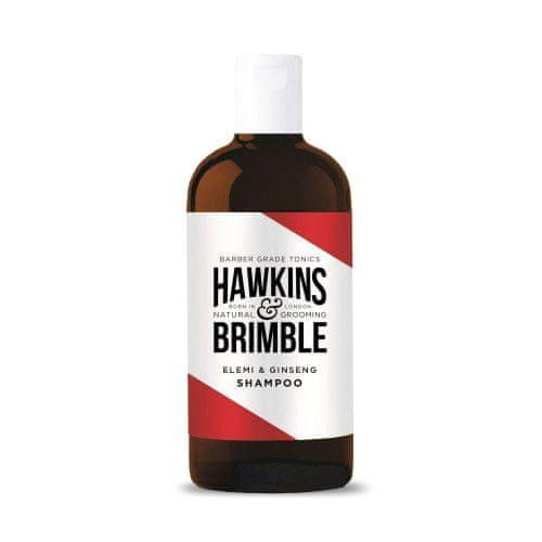 Hawkins & Brimble Hydratační šampón pro muže s vůní elemi a ženšenu (Elemi & G, Hydratační šampón pro muže s vůní elemi a ženšenu (Elemi & Ginseng Shampoo) 250 ml