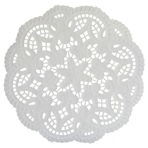 Staufen Tassendeckchen 10cm weiß, Tassendeckchen 10cm weiß