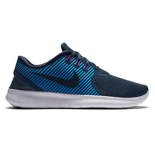 Nike WMNS NIKE FREE RN COMMUTER, 20 | RUNNING | WOMEN | LOW TOP | SQDRN BL/DRK OBSDN-HRTG CYN-HY | 8
