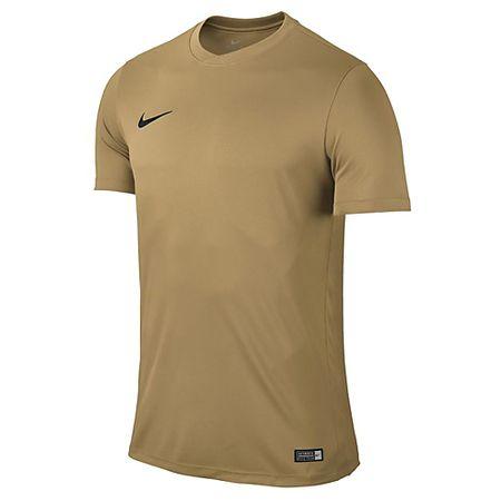 Nike SS YTH PARK VI. JSY, 10. | FABOTBALL / FOCCER | YOUTH UNISEX RÖVID HÁLÓ FEL | JERSEY GOLD / FEKETE | XL