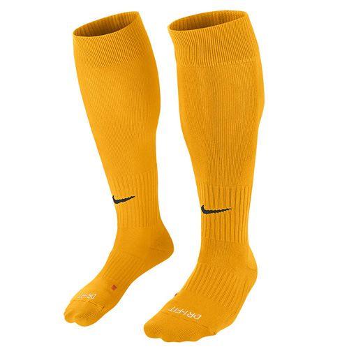 Nike U NK CLASSIC II cush OTC -Team, 30 | FOOTBALL / SOCCER | ADULT UNISEX | KNEE HIGH SOCK | UNIVERSITY GOLD / BLACK | XL