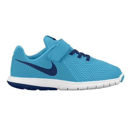 Nike FLEX 5 (TDV) TAPASZTALAT, 20.   Ifjú atléták BOYS TODDLER   LOW TOP   KLÓRKÉK / KÉPKÖVETT KÉK-POLA   6C