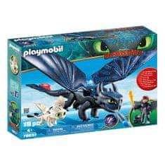 Playmobil Štikút a Bezzubý Playmobil, Ako vycvičiť draka, 19 dielikov