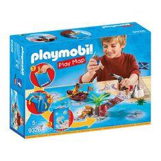 Playmobil Játéktérkép Pirates , Kalózok, 50 darab