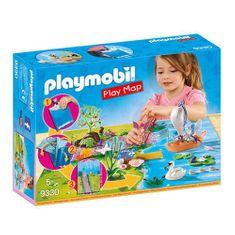 Playmobil Mapa gry Fairy Garden , Wróżki i jednorożce, 50 sztuk
