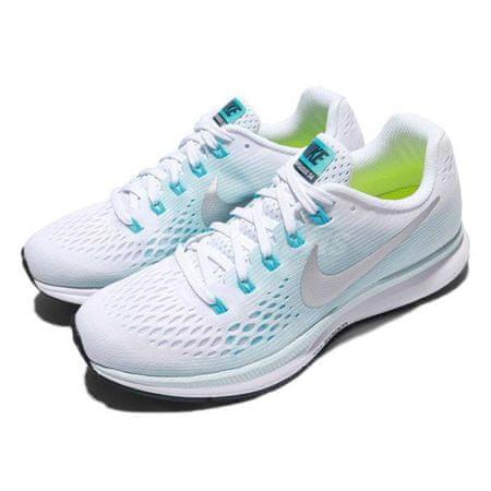 Nike WMNS AIR ZOOM PEGASUS 34, 20. | Futás | NŐK | LOW TOP | FEHÉR / FÉMES ezüst-lágyító 7.5