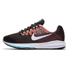 Nike WMNS AIR ZOOM SZERKEZET, 20. | Futás | NŐK | LOW TOP | FEKETE / FEHÉR-LAVÁK GLOW-KLOR | 6