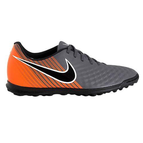 Nike OBRAX 2 CLUB TF, 20 | FOOTBALL / SOCCER | MENS | LOW TOP | DARK GREY / BLACK-TOTAL ORANGE-W | 8.5
