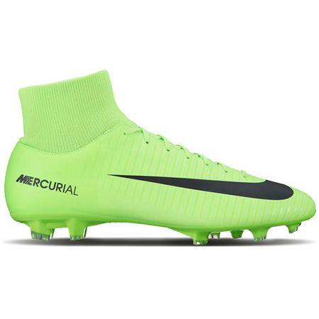 Nike VZDRŽEVALNI VIKTOR VI DF FG, 20 | FOOTBALL / SOCCER | MOŠKI | VISOK vrh | ELEKTRIČNO ZELENO / ČRNO-FLASH LIM | 7.5