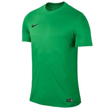 Nike SS PARK VI JSY, 10. | FABOTBALL / FOCCER | MENS | RÖVID HÁLÓ FEL | HIPER ZÖLD / FEKETE | XL