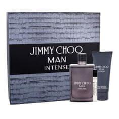 Jimmy Choo Dárková sada , Man Intense, EDT 100 ml + EDT 7,5 ml + balzám po holení 100 ml