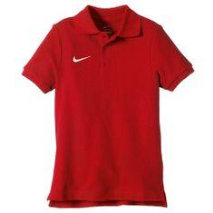 Nike 0,6 x 30 cm čierno-béžová, 10 | FOOTBALL / SOCCER | BOYS | SHORT SLEEVE POLO | UNIVERSITY RED / WHITE | M