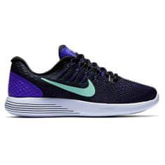 Nike WMNS LUNARGLIDE 8, 20. | Futás | NŐK | LOW TOP | PRSN VLT / GRN GLW-BLK-DK PRPL D | 7