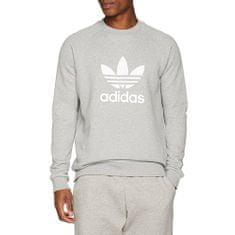 Adidas Bluza z kapturem Originals Trefoil Crew, 397677 | Mężczyźni Szary XL