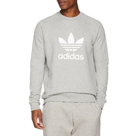 Adidas Bluza z kapturem Originals Trefoil Crew, 397677   Mężczyźni Szary XL