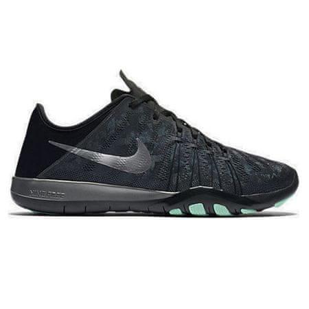 Nike WMNS FREE TR 6 MTLC, 20 | SZKOLENIA KOBIET | KOBIETY | LOW TOP | DK GRY / MTLC SLVR-BLACK-GRN GLW | 8