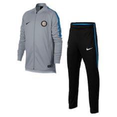 Nike INTER Y NK SZÁR SQD TRK SUIT K, 10. | FABOTBALL / FOCCER | YOUTH UNISEX WARM UP | WOLF SZÜRKE / FEKETE / ROYAL BLUE / BLA | XS