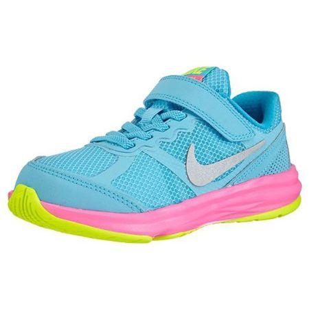 Nike KIDS FUSION RUN 3 (PSV), 20 | MŁODZI ATLECI | GIRL PRE SCHOOL LOW TOP | CLRWTR / MTLLC SLVR-VLT-PNK PW | 3 lata