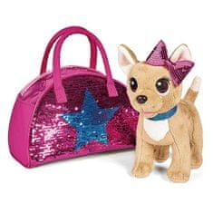 Simba CCL Chihuahua pes Menjava moda v torbi, CCL Chihuahua pes Menjava moda v torbi