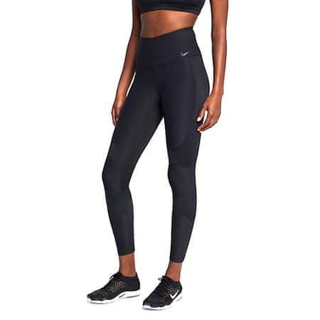 Nike W NK PWR LGND TGHT HI RS CONTR, 10   SZKOLENIA KOBIET   KOBIETY   RAJSTOPY   CZARNY / CZARNY / CZARNY   XL