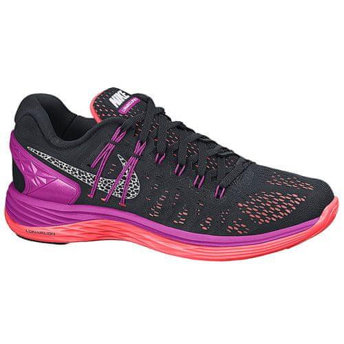 Nike WMNS LUNARECLIPSE 5, 20 | RUNNING | WOMEN | LOW TOP | BLACK / WHITE-FCHS FLASH-HT LV | 7