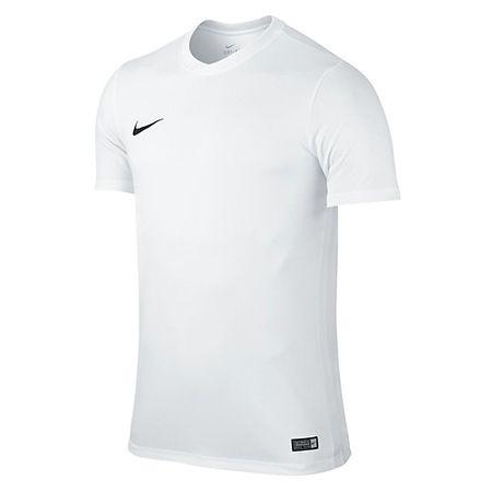Nike SS YTH PARK VI. JSY, 10. | FABOTBALL / FOCCER | YOUTH UNISEX RÖVID HÁLÓ FEL | FEHÉR / FEKETE | XS
