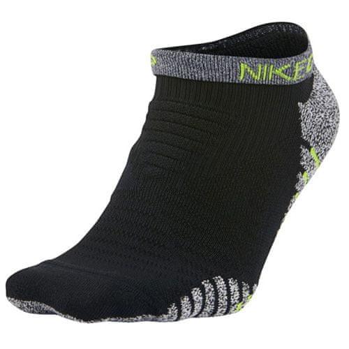 Nike M NG LTWT LOW, 30 | MEN TRAINING | MENS | LOW CUT SOCK | BLACK / VOLT | S