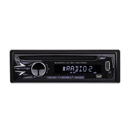 Trevi Autórádió , XCD 5770USB, CD-USB-RDS-BT