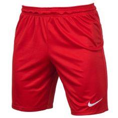 Nike PARK II KNIT SHORT NB, 10 | FOOTBALL / SOCCER | MENS | SHORT | UNIVERSITY RED / WHITE | M