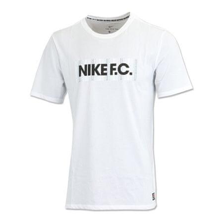 Nike F.C. Dry, 10 | PIŁKA NOŻNA / PIŁKA NOŻNA | MĘŻCZYZNA | T-SHIRT Z KRÓTKIM RĘKAWEM | BIAŁY | M.