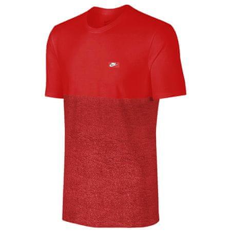 Nike TEE-SHOEBOX, 10. | NSW EGYÉB SPORT | MENS | Rövid ujjú póló | EGYETEM Vörös / EGYETT Vörös XL