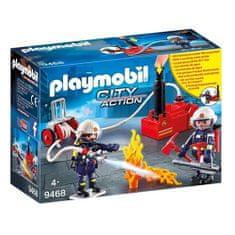 Playmobil Hasiči s vodným čerpadlom , Hasiči, 40 dielikov